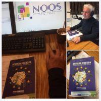 Bergse schrijver Sonn Franken live in uitzending Omroep NOOS