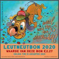 De Leut Neut Bon 2020 twee maanden langer geldig